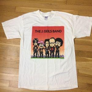 Vintage 90s J Geils Band 1999 Tour Concert Shirt
